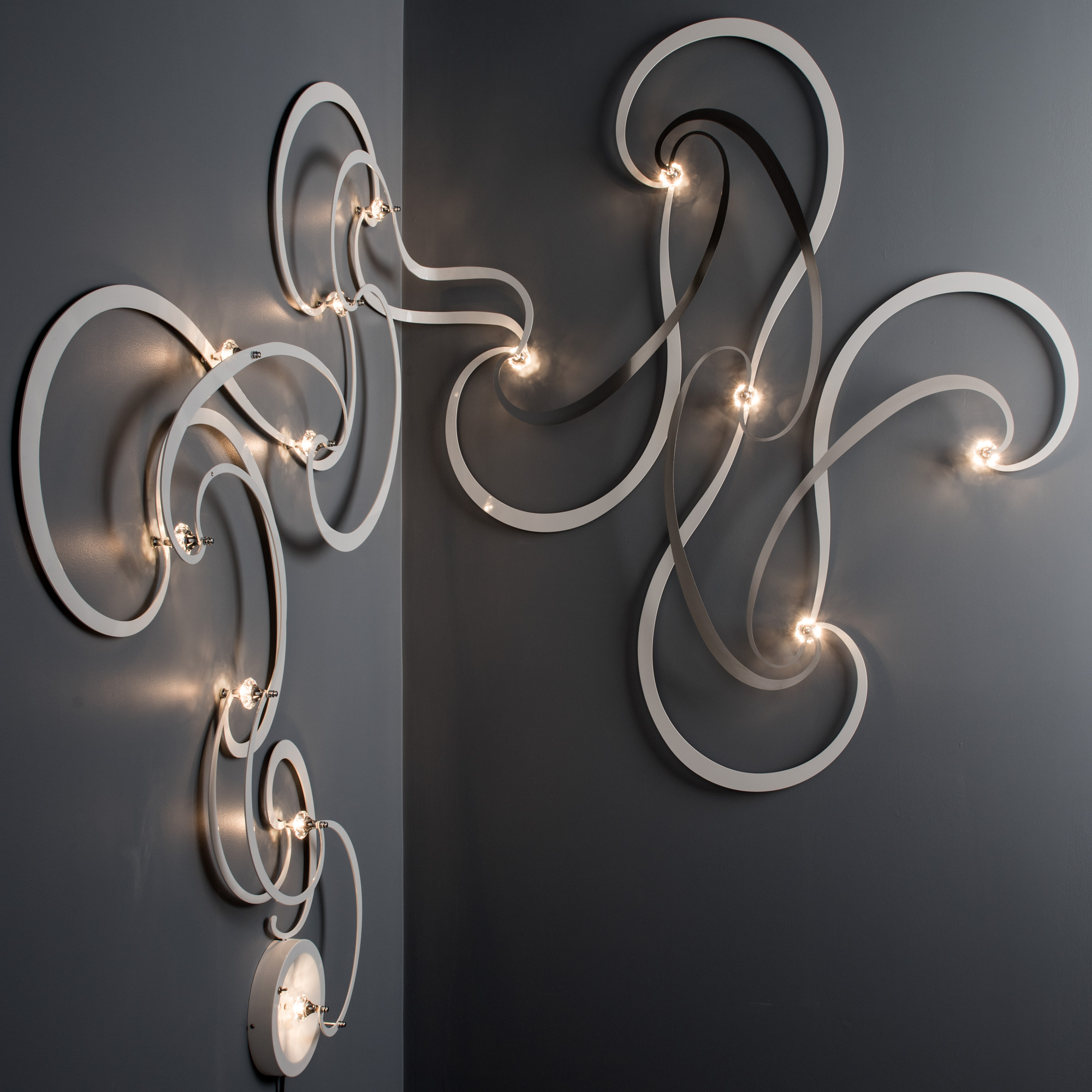 12 CRYSTAL NEBULA MODULAR LIGHTING SYSTEM