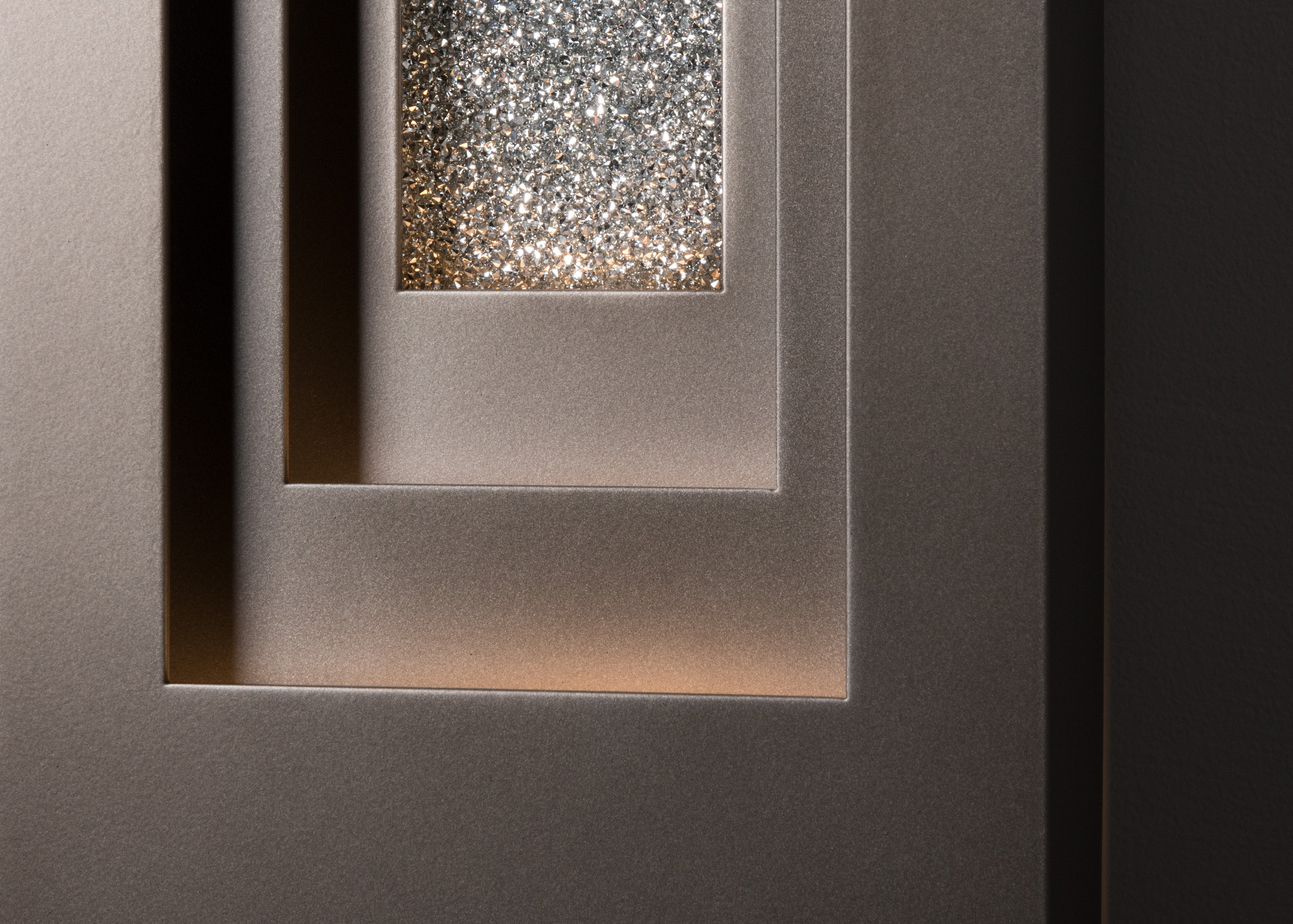 PROCESSION OUTDOOR SCONCE – LARGE WITH SWAROVSKI® INSET