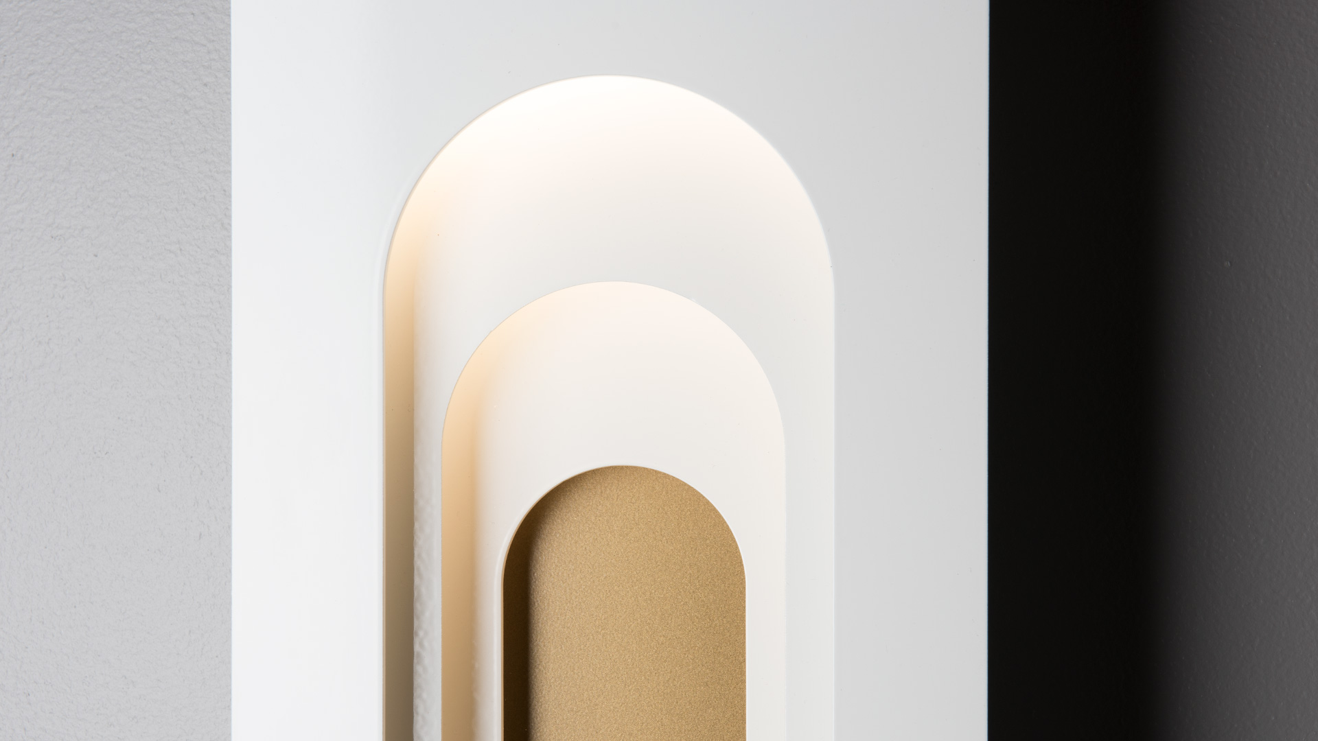 PROCESSION ARCHED OUTDOOR SCONCE