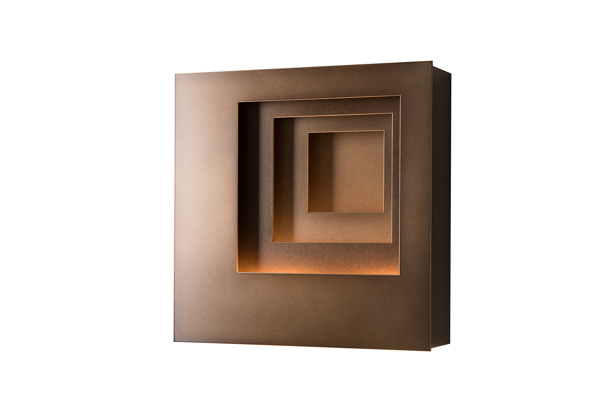 PROCESSION SQUARE OUTDOOR SCONCE – LEFT